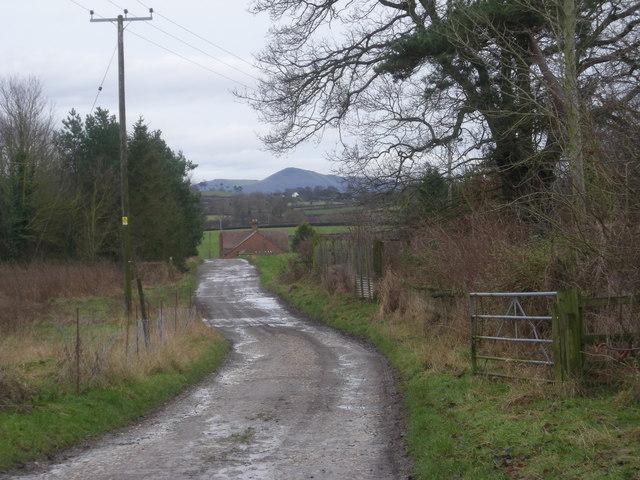 Whitley Grange driveway