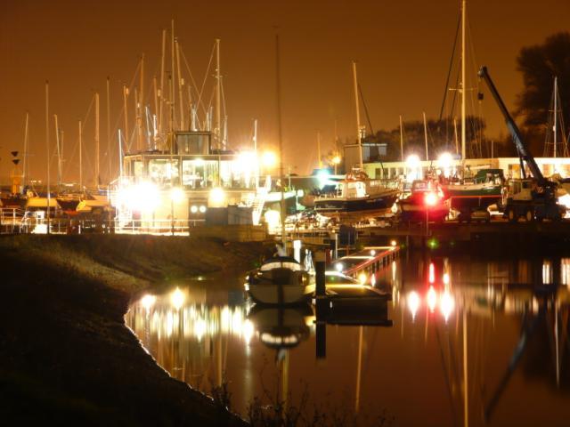 Shotley Marina and Lock control tower