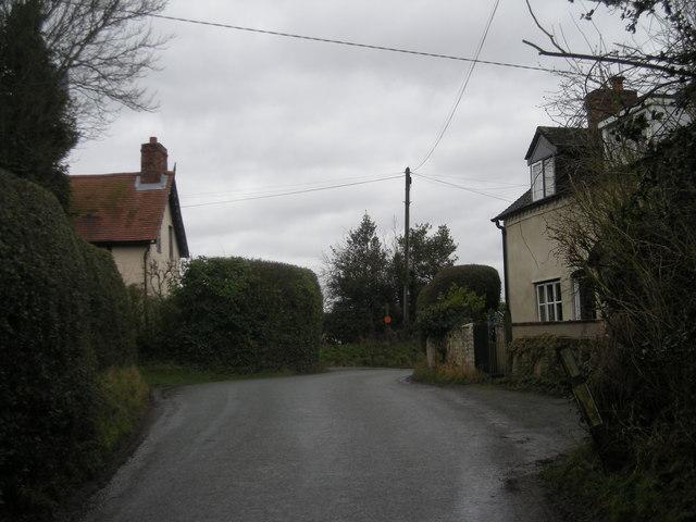 Lane through Arscott