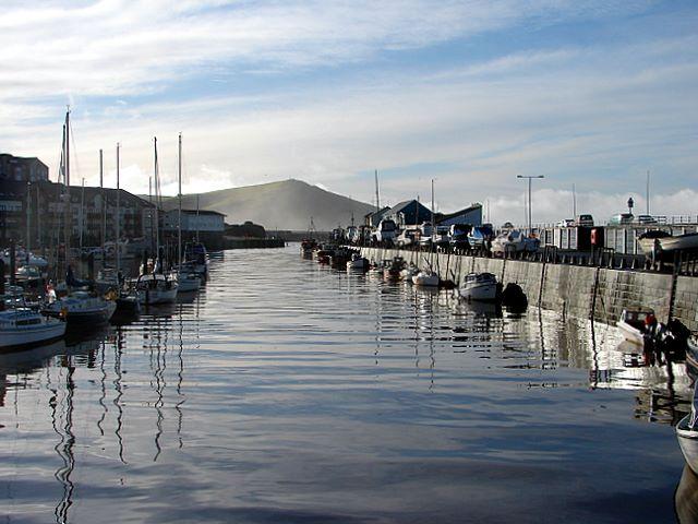 Aberystwyth Marina...