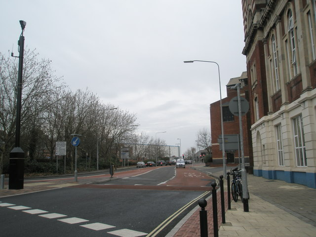 Looking north west from the Edinburgh Road roundabout