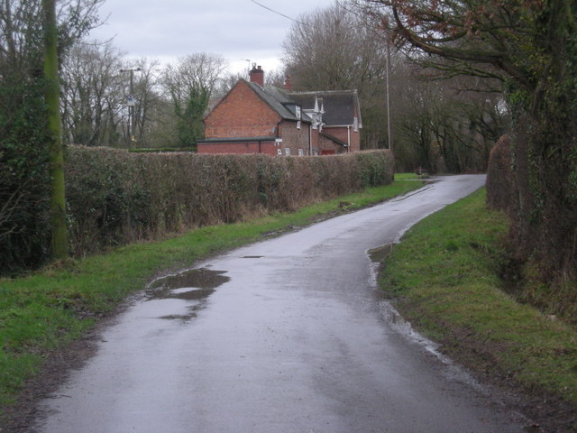 House near Long Coppice