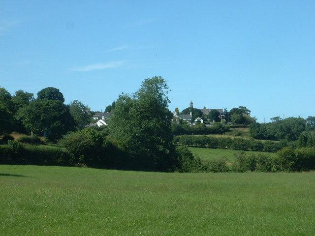 Farmland near Llanferres