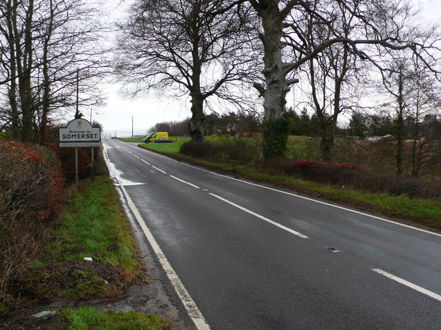 Bluntsmoor Bridge, Somerset and Dorset county Boundary
