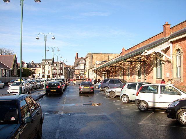 Station car park, Aberystwyth
