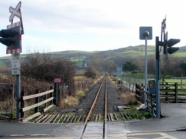 Vale of Rheidol Railway at Llanbadarn Fawr