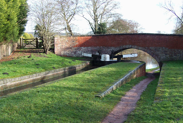 Gothersley Lock and Bridge, Staffordshire and Worcestershire Canal