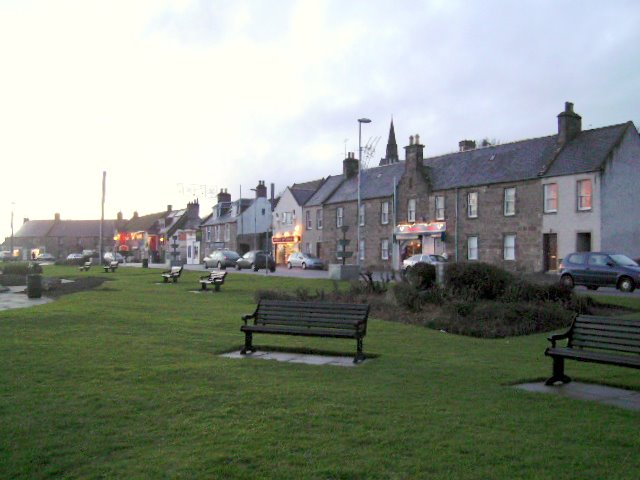 Almost dusk at Lossiemouth