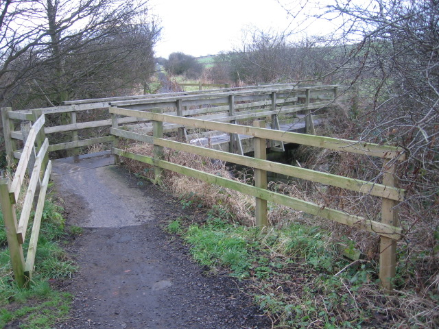 Bridge over Burniston Beck