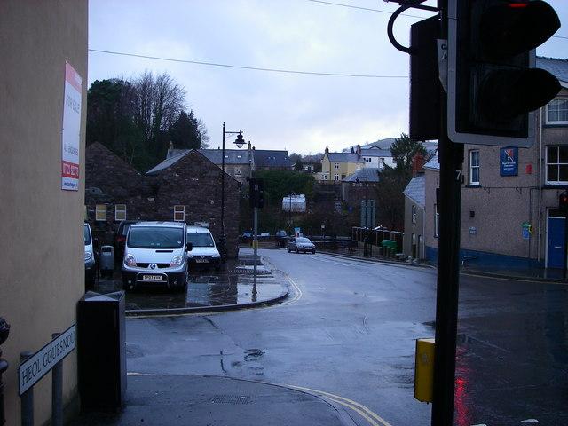 Road replaces rail in Brecon
