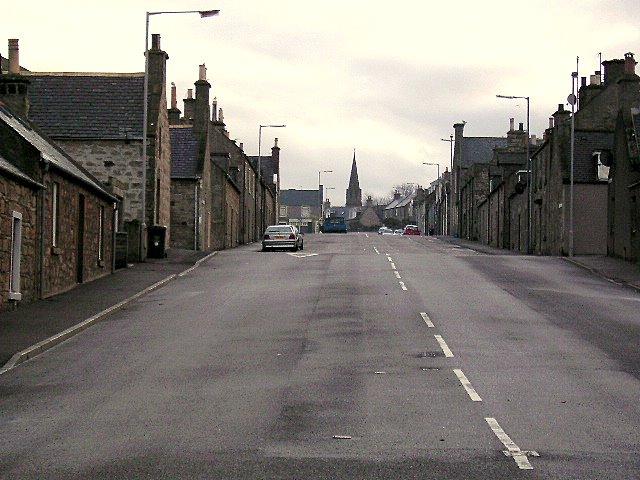 Kinnedar Street , Lossiemouth