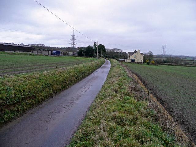 Lane to Whitstone Farm