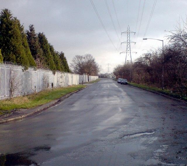 Calverley Lane by Woodlands Sheds