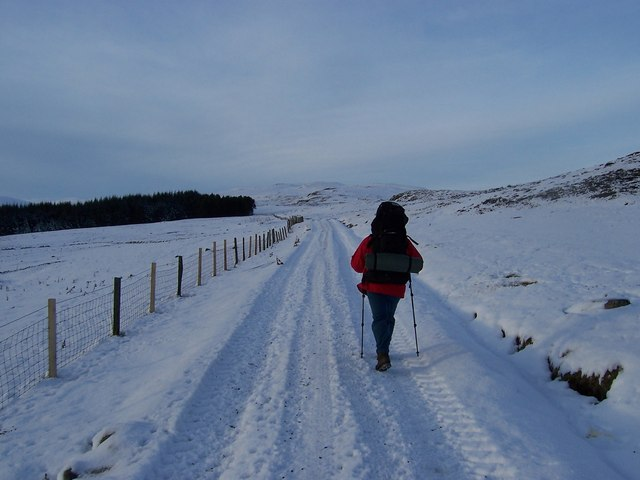 Track along to Loch Con