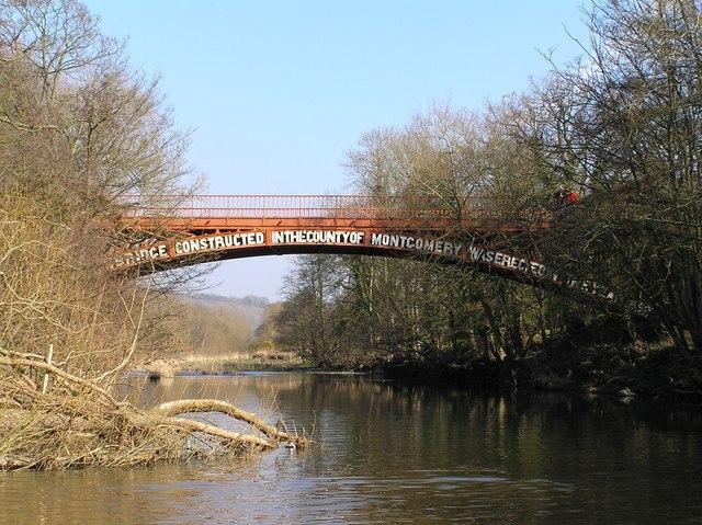 River Severn, Brynderwen road bridge