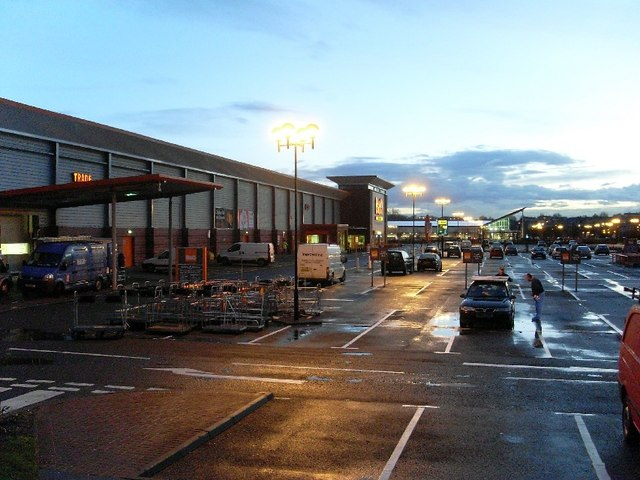 Early morning, Great Western Retail Park