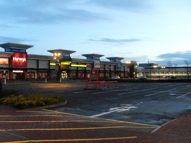 Shops in Great Western Retail Park