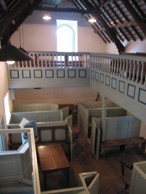 Unitarian chapel at the National History Museum, St Fagans