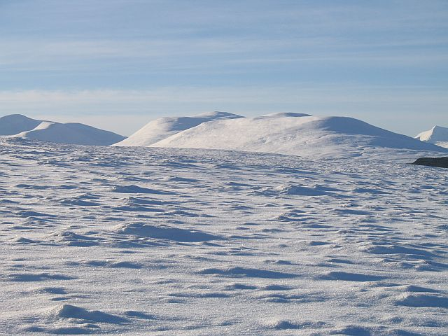 Moorland above Dalwhinnie