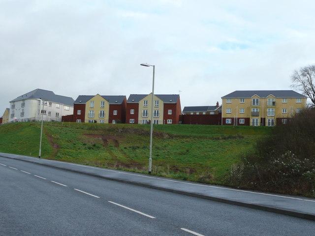New housing on Brickyard Hill