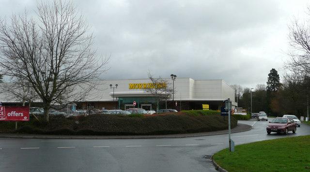 Morrisons supermarket, Tiverton