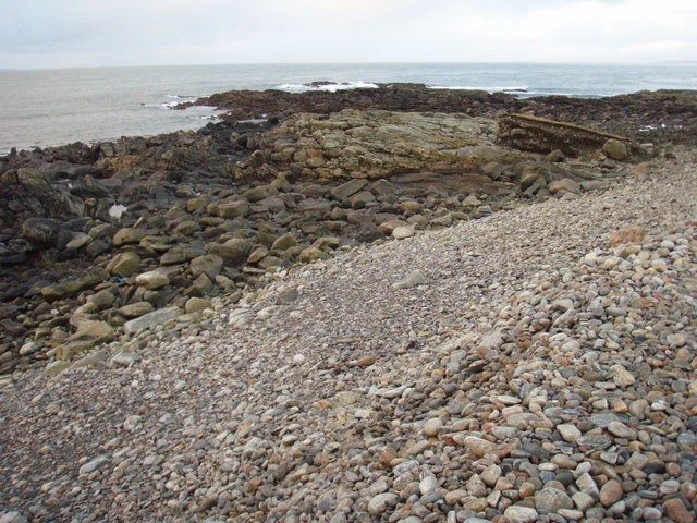 Rocky coast off Fionnghlas an Àird