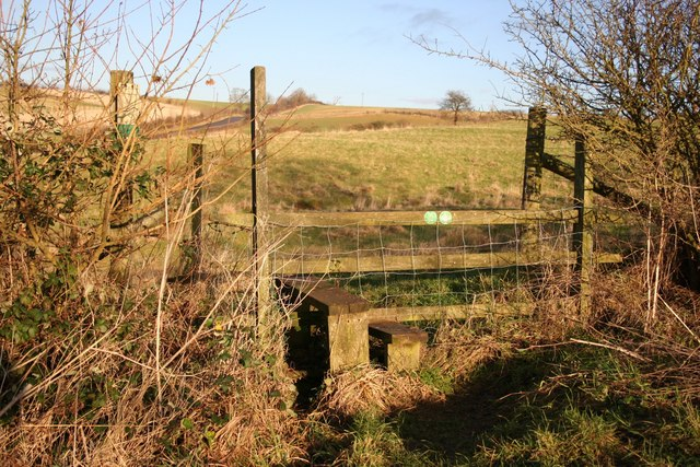 Footpath to Walesby Hill