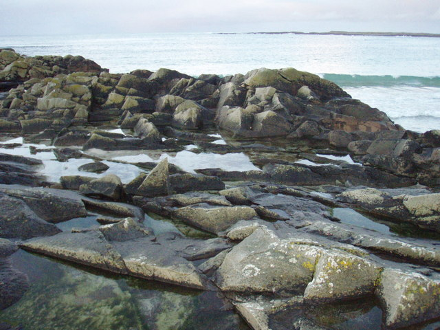 Rocky coast of Culla