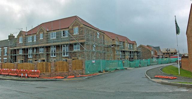 New Development off Waterside Road