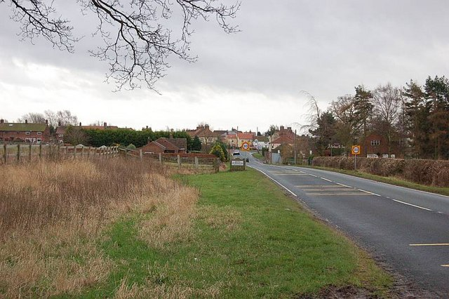 South Otterington from Northallerton road