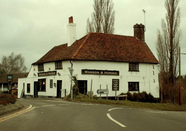 The 'Waggon And Horses' inn