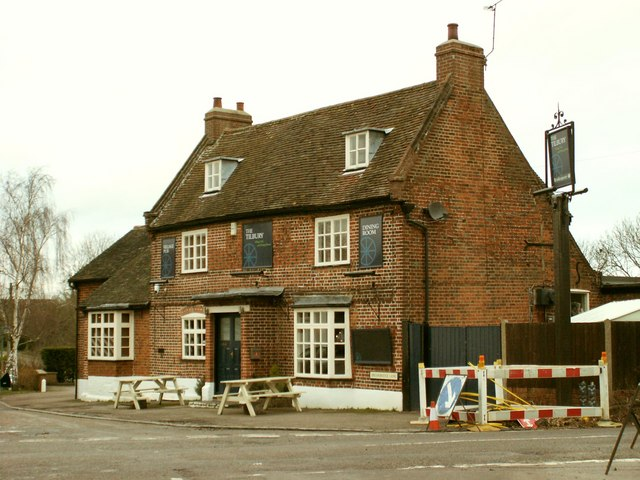 'The Tilbury' public house at Datchworth Green