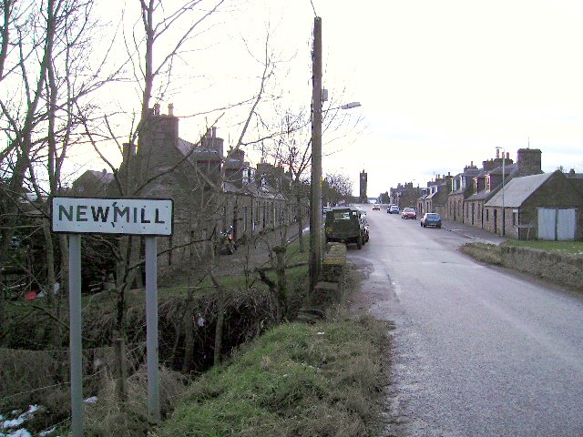 Entering Newmill