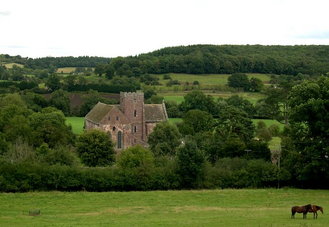Dore Abbey, from the South