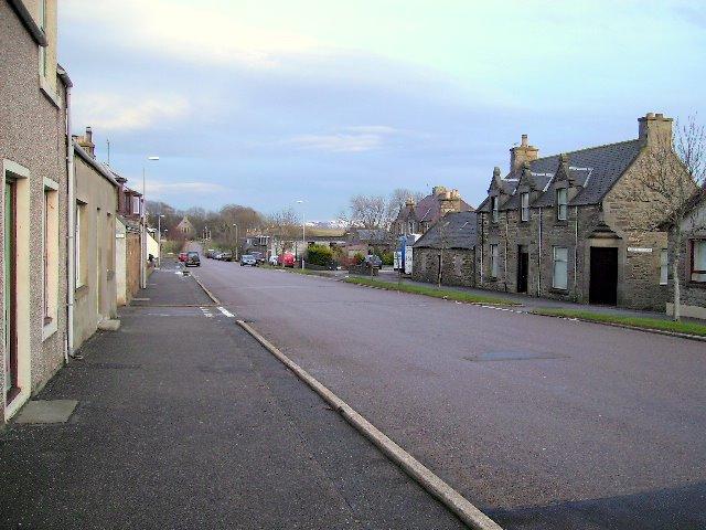 Main Street, Newmill