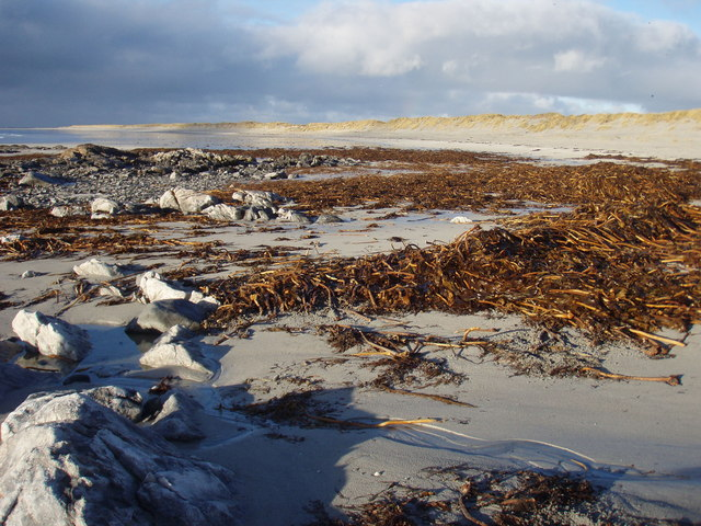 The beach at Rubh' Arnal