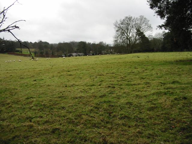 View across the fields near Betteshanger