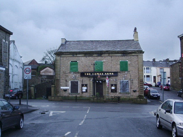The Lomax Arms, Blackburn Road, Great Harwood
