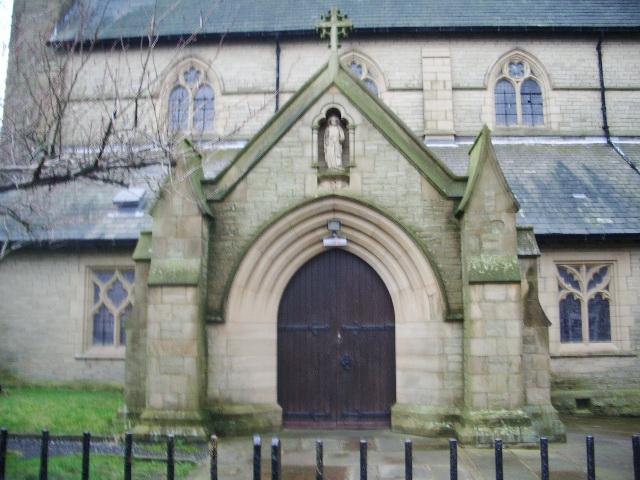 The Parish Church of St Peter, Accrington, Porch