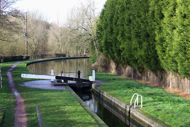 Gothersley Lock, Ashwood, Staffordshire and Worcestershire Canal