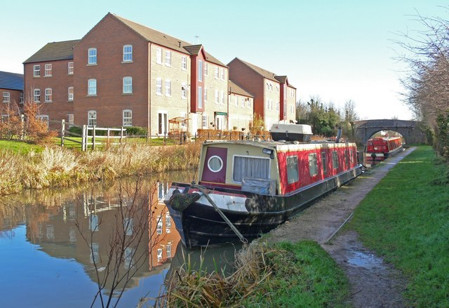 Ashby Canal in Hinckley