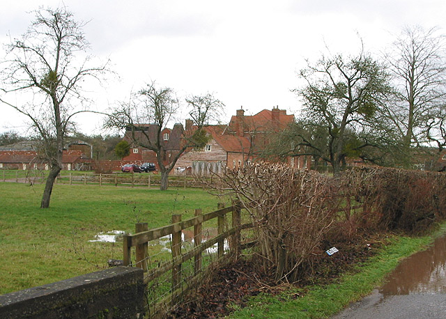 Brook Farm in winter