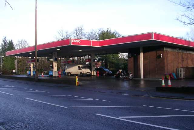 Esso Filling Station - Otley Road