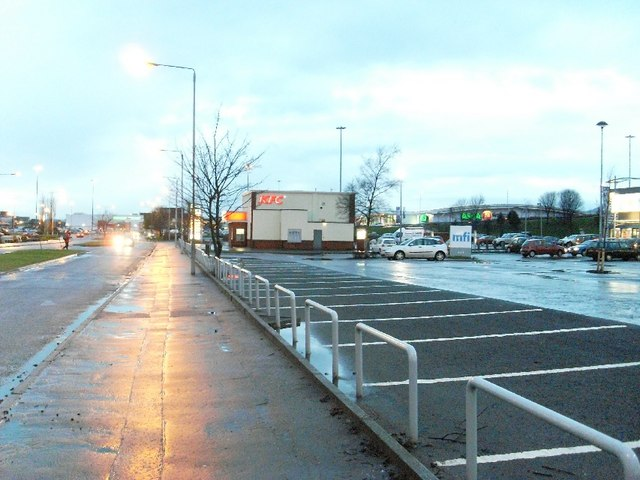Clydebank main shopping area