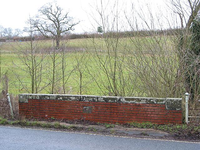 Hillside paddock near Lyne Down