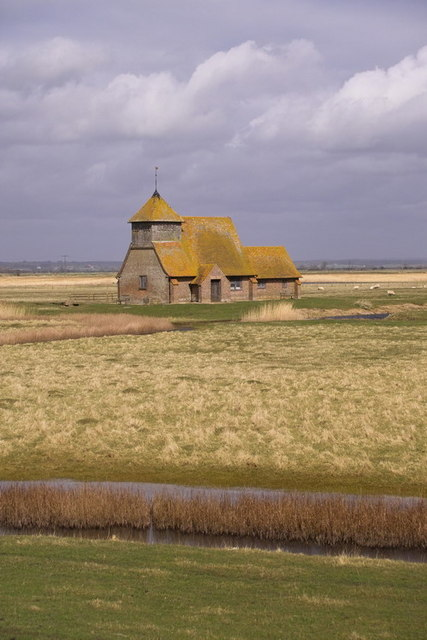 St Thomas Becket Church, Fairfield, Romney Marsh