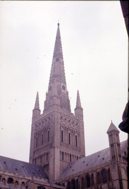 Norwich Cathedral Tower and Spire