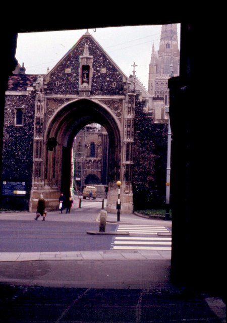 Entry gate to Cathedral