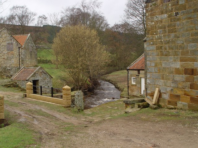 Hodge Beck, Bransdale Mill