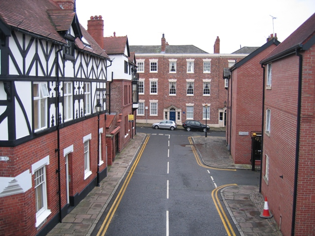 Pemberton Road from the city walls